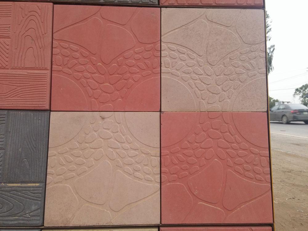 Concrete Tiles Flooring For Garden Images