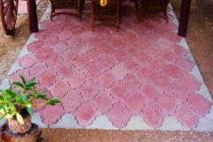 CVBT paving slaps beautiful in Spanish pattern. ¿ØµºÒ··Ã§ä·Â ÊǧÒÁã¹áººÅÇ´ÅÒÂÊà»¹
