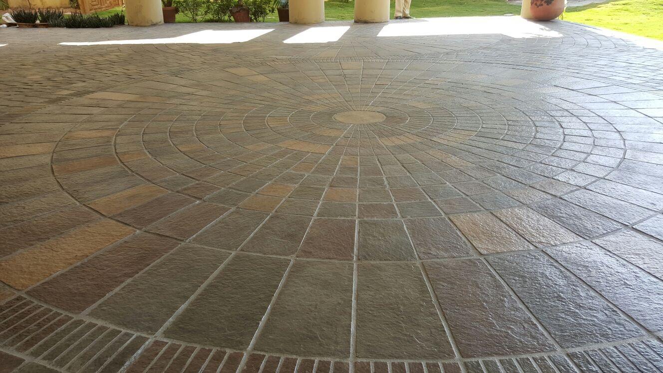 Ceramic tile over concrete driveway tile designs driveway tiles floor and decorations collections ceramic tile over concrete driveway designs dailygadgetfo Image collections