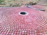 beautiful-circle-pavers-sidewalks-and-walkways-tiles-images