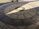 big-circle-concrete-tile-home-driveways-pictures