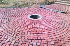 beautiful-circle-pavers-sidewalks-and-walkways-tiles-images