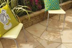 big-circle-concrete-paving-tile-home-garden-pictures