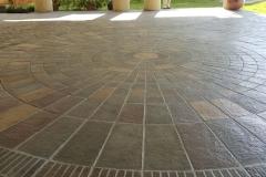 circle-concrete-tile-driveways-pictures