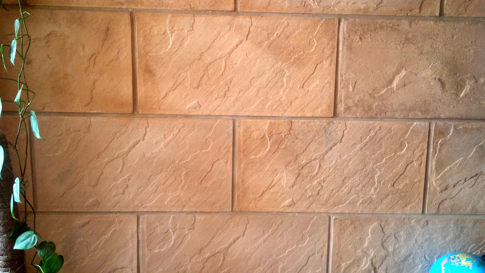 Concrete Face Wall Tiles In Pakistan Pak Clay Khaprail