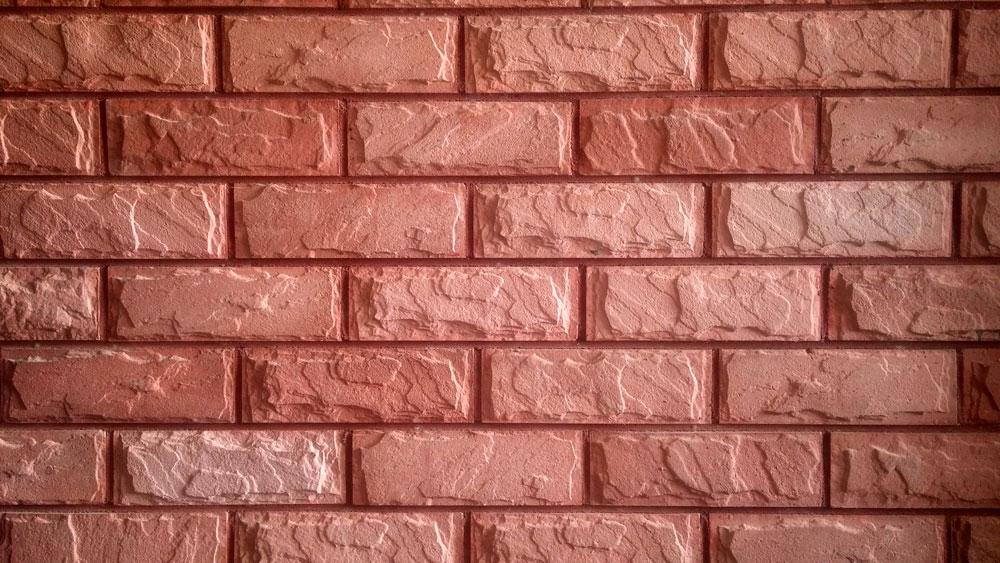 Red Brick Wall Tiles Living Room - Living Room Ideas