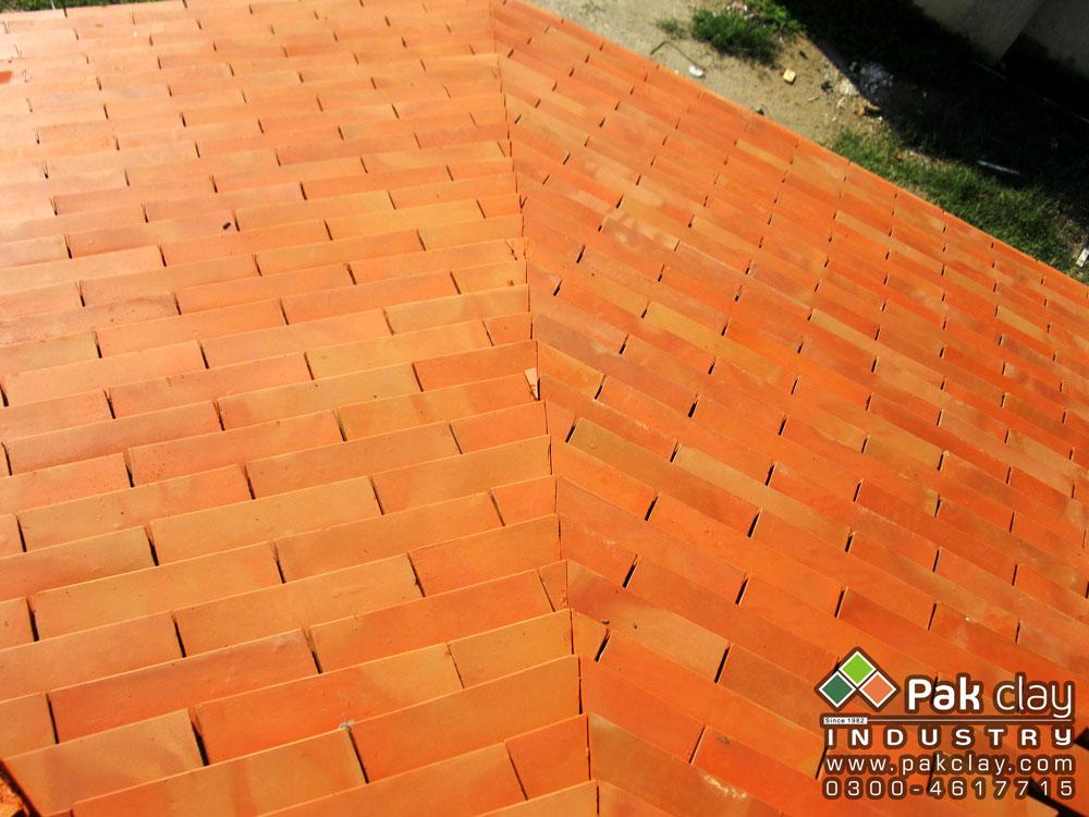 Flat Tiles 12 X4 Pak Clay Tile Pakistan