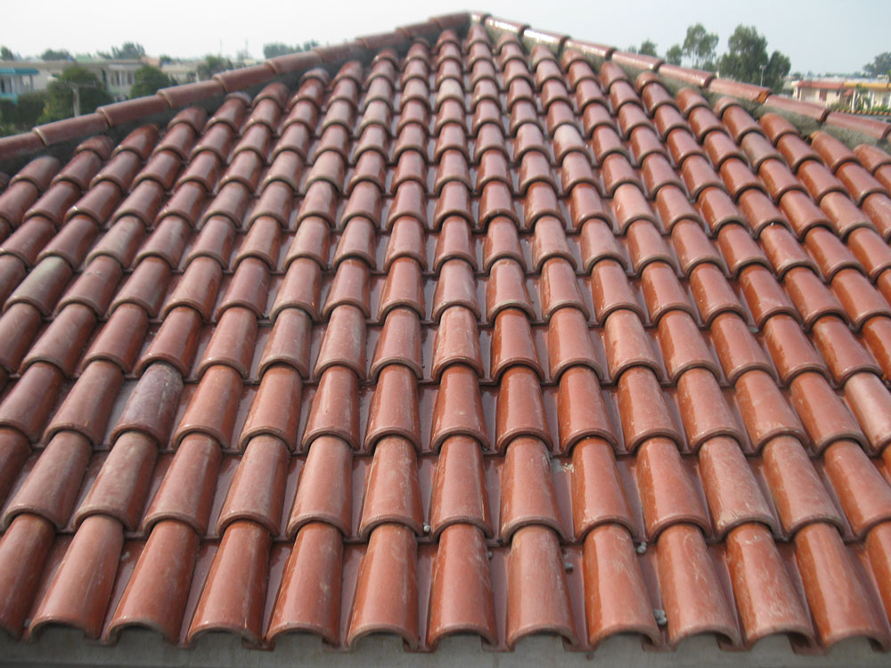 Buy roofing materials khaprail tiles for sale shop online Spanish clay tile