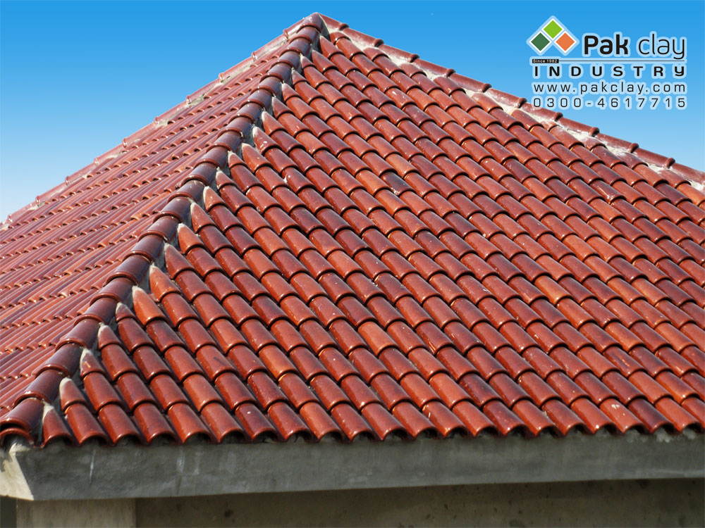 04 Spanish Glazed Tiles Heat Reflective Roof Tiles