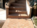 3 exterior-stair-tread-red-tiles-design-plans-pictures-images-photos-pattern