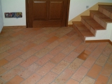 6 interior-stair-tread-red-tiles-design-plans-pictures-images-photos-pattern-