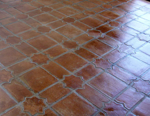 Star and square tiles pak clay tile pakistan for Terrace tiles texture