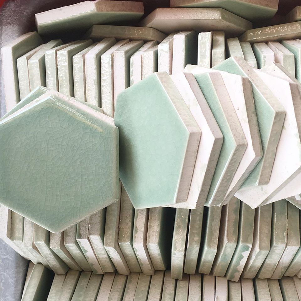Sea Green Glazed Bathroom Flooring Tiles Price in Pakistan