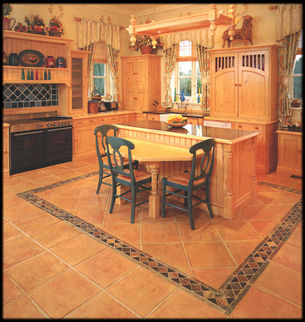 Flooring and Wall Tiles for Kitchen and Bathroom Design Durable Materials