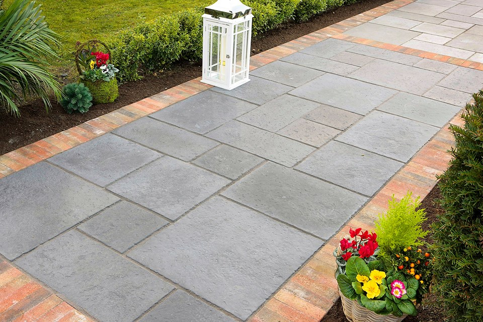 Garden flooring ideas cheap tile laying patterns style and for Home garden design in pakistan
