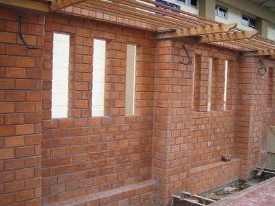 Red Bricks Wall Tiles in Lahore - Ceramic Tile Production
