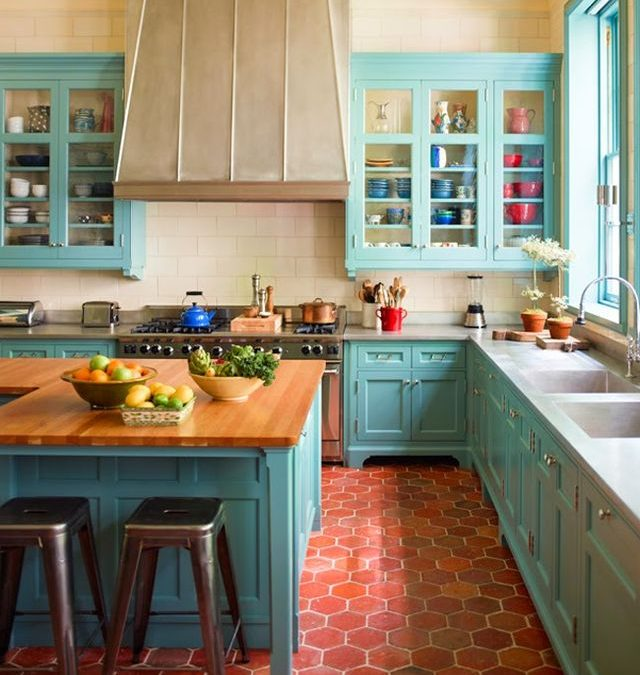 Kitchen Clay Tiles Flooring