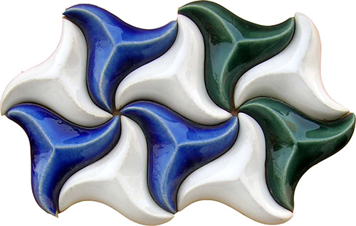 What is Ceramic Glazed Blue and Withe Mixed Colours Tiles Designs Low Prices in Lahore Pakistan Pictures Ideas