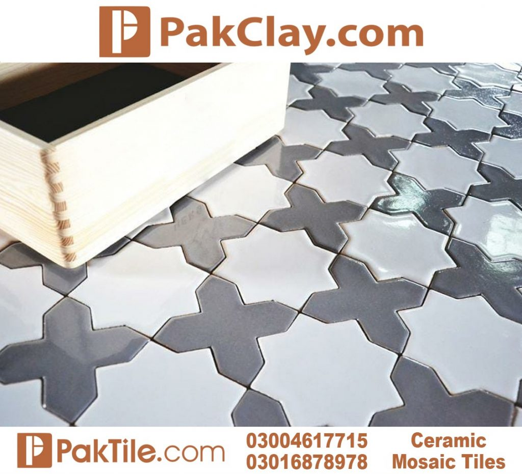 Ceramic Mosaic Floor Tiles in Pakistan