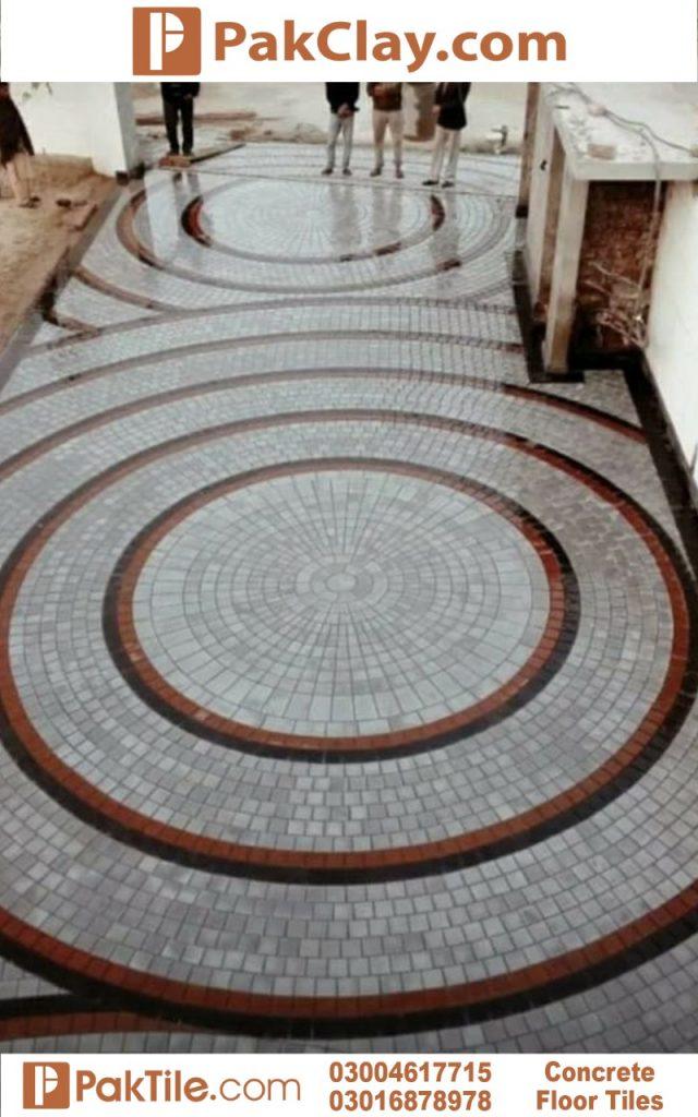 Concrete Floor Tiles in Pakistan