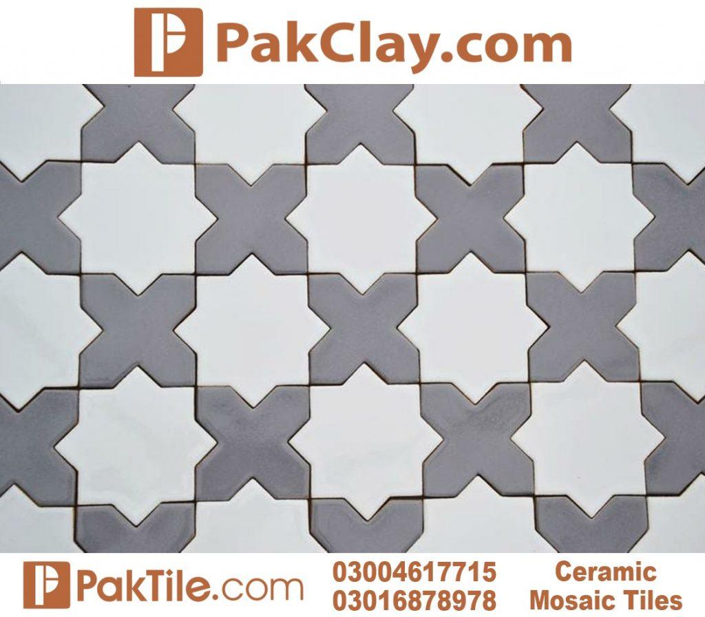 Grey Ceramic Floor Tiles Design in Pakistan