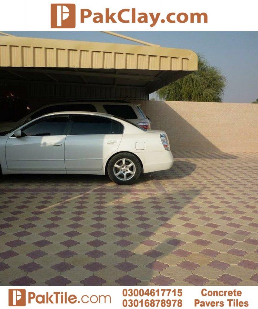 Outdoor Car Porch Floor Tiles in Pakistan