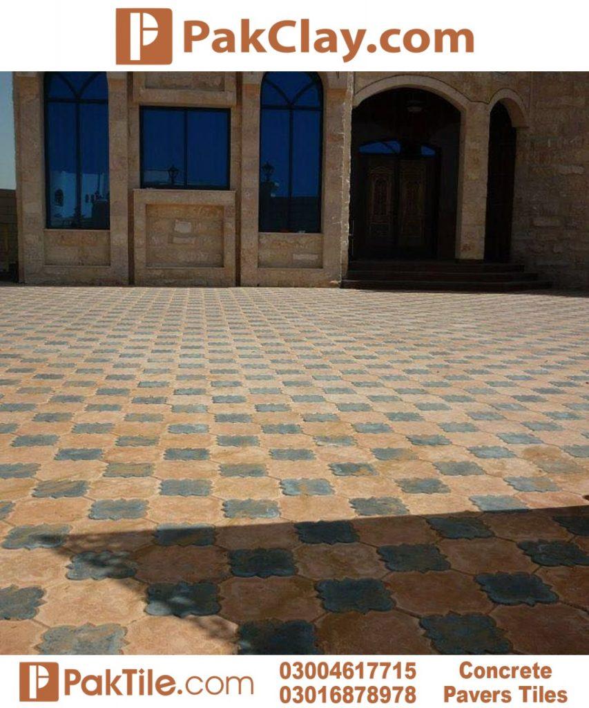 Outdoor Floor Tiles Design in Pakistan