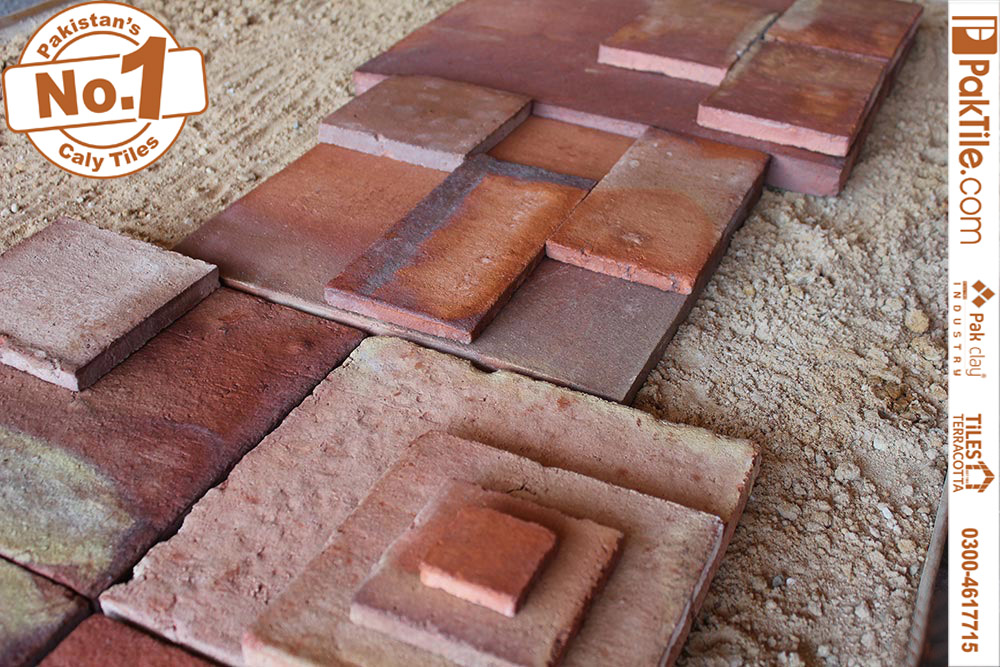 Pak Clay Bullnose ceramic border slate cork look small and large house room tiles for kitchen outdoor home garden coloured patterned images market in faisalabad pakistan