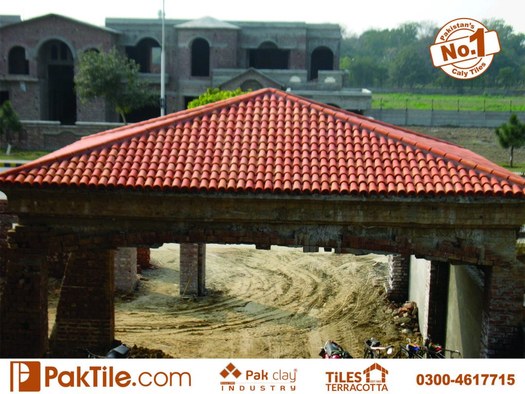 Pak clay industry patio home design driveway carporch garage canopy roof decking insulation composition shingles building mateials clay tile roof designs cost images lahore kpk