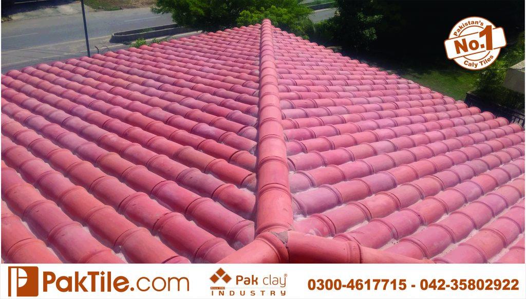 Best pak clay best terracotta bricks glazed roof khaprail tiles manufacturer and supplier price rates house design images photos in lahore karachi multan gujranwala pakistan