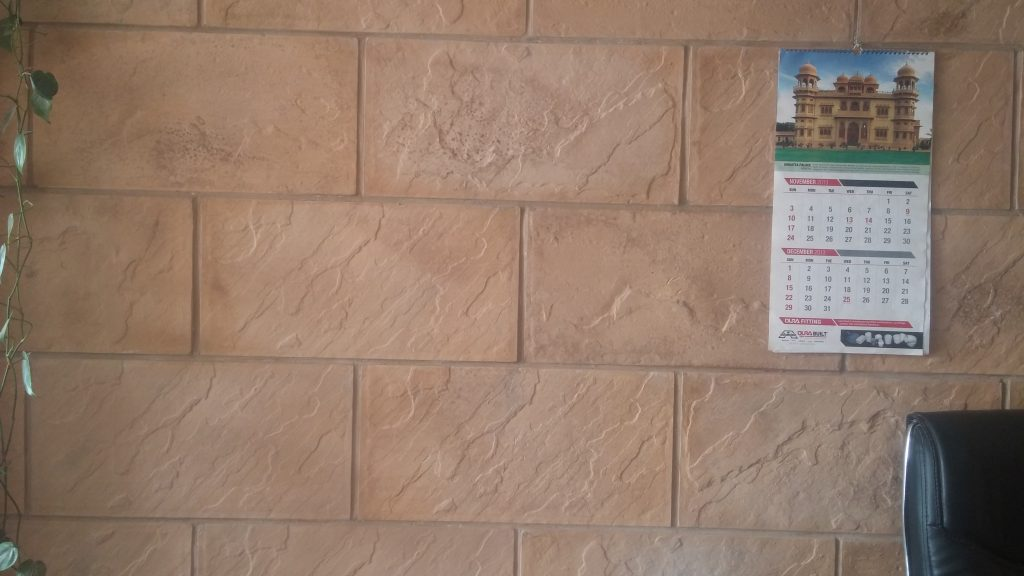 Chakwal Stone Tiles Factory Outlet Price in Pakistan Design concrete wall face stone effect house interior tile material factory shop lahore images