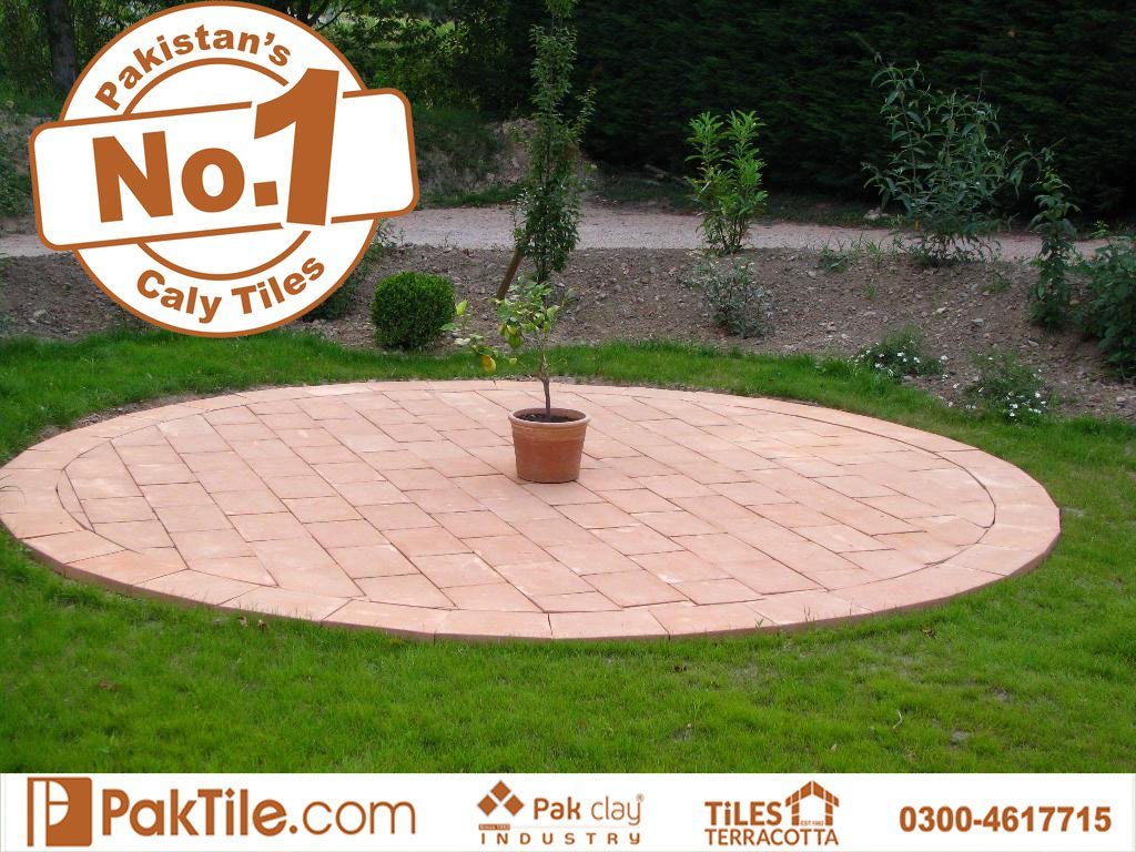Frost-resistant garden red clay brick outdoor rectangular flooring tiles rates home furniture and home garden building products online shop catalogs in lahore pakistan images
