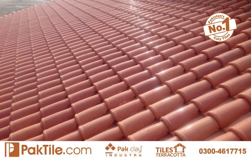 Pak Clay Tiles Lahore Terracotta Khaprail Roof Tiles Design in Karachi Images.