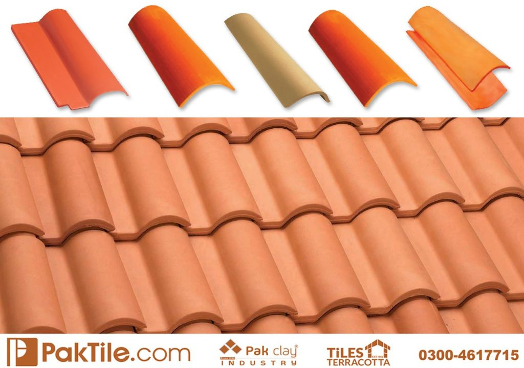 Ceramic Roof Tiles in Pakistan