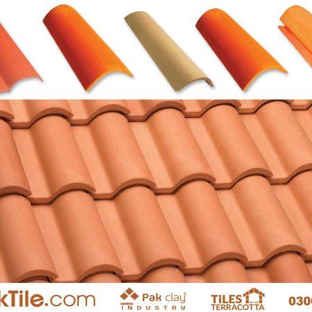 Ceramic Roof Tiles in Pakistan