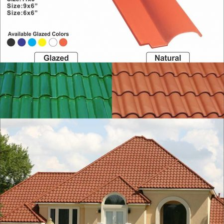 1 Pak Clay Natural Khaprail Tiles Roof Tiles in Pakistan