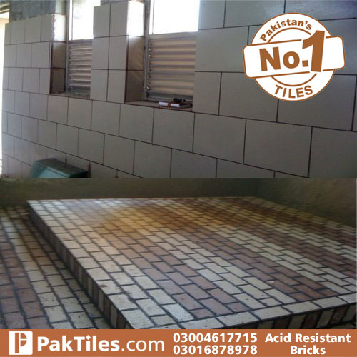 Acid resistant Tiles laying procedure