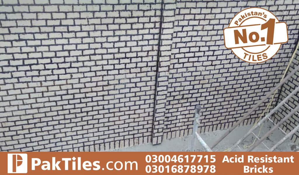 Acid proof flooring tiles