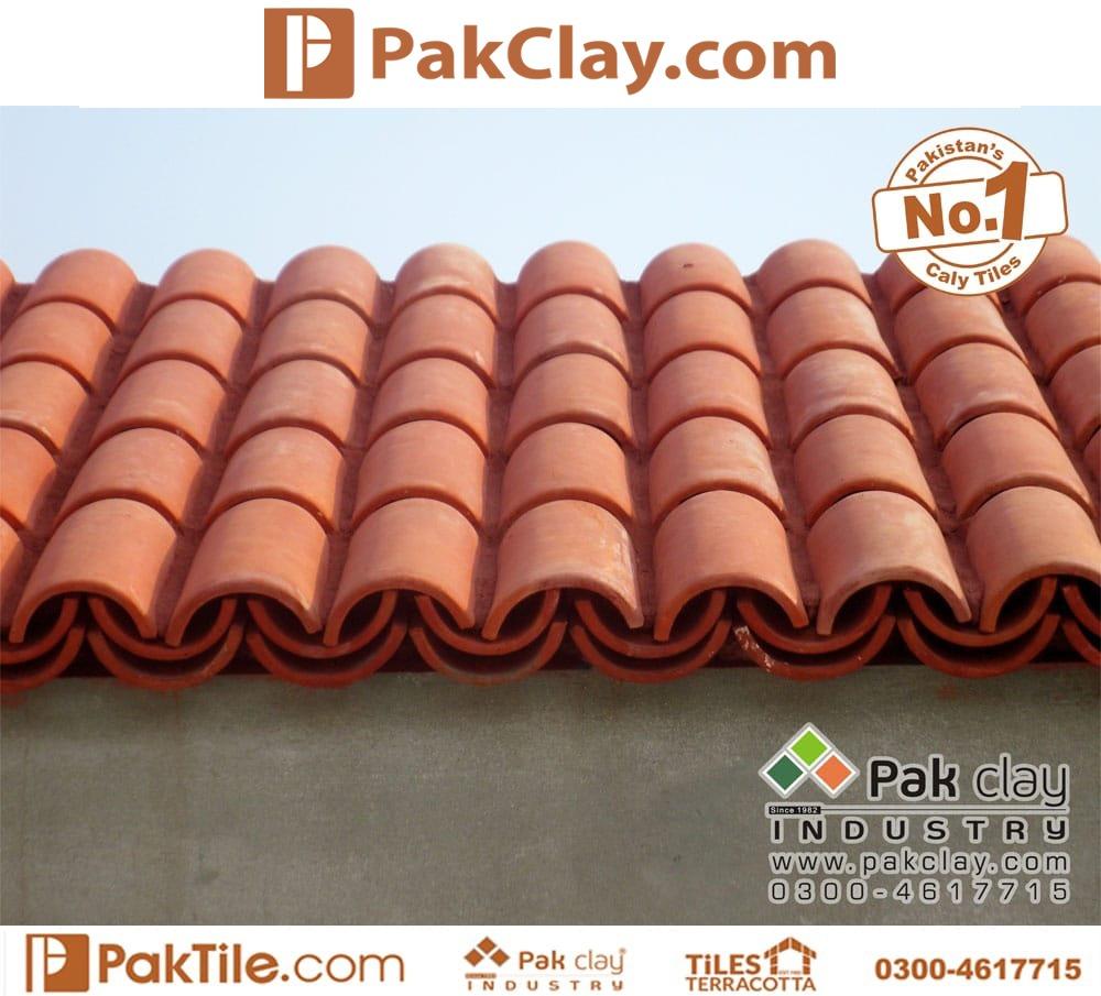 Natural Clay Khaprail Tiles