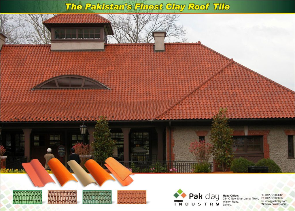 Pak Clay Glazed Roof Tiles Colours