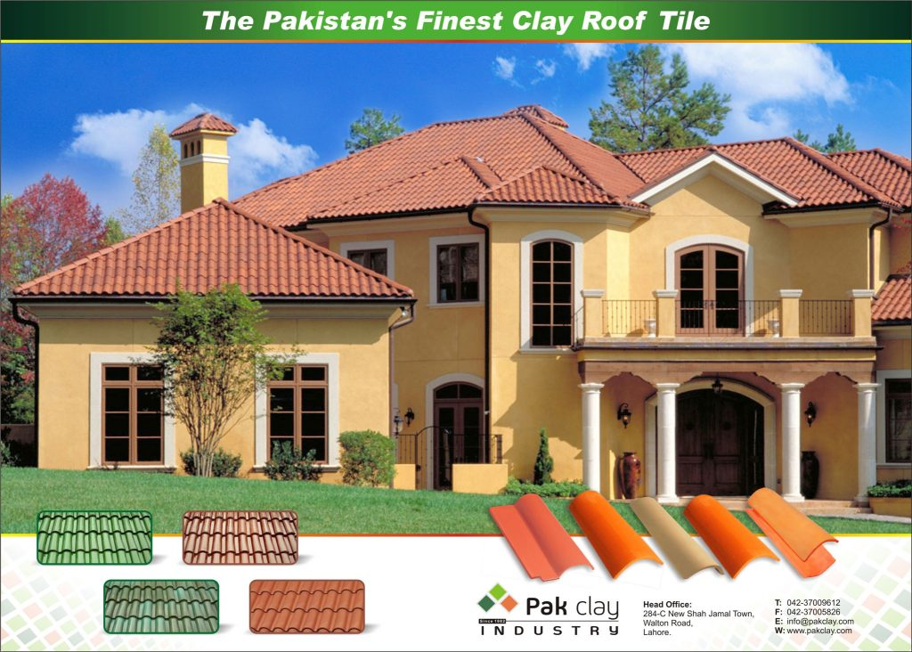 Pak Clay Roof Tiles Colours