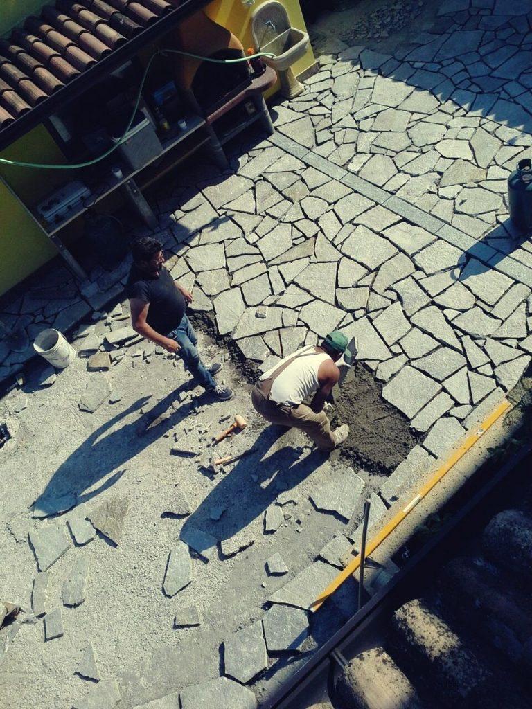 Outdoor Flagstone Pavers Installation Floor Tiles Design and Price in Pakistan