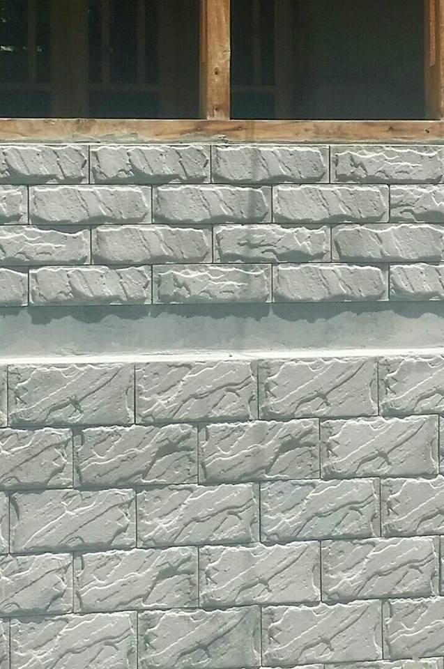 Pak Tile Front Elevation Concrete Tiles Design in Pakistan