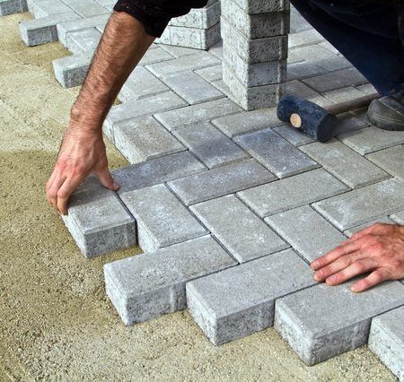 How to Install A Custom Paver Patio Driveway Floor Tiles in Pakistan