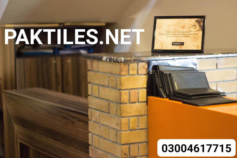 6 Pak Tile yellow gutka brick tiles for interior walls designs images