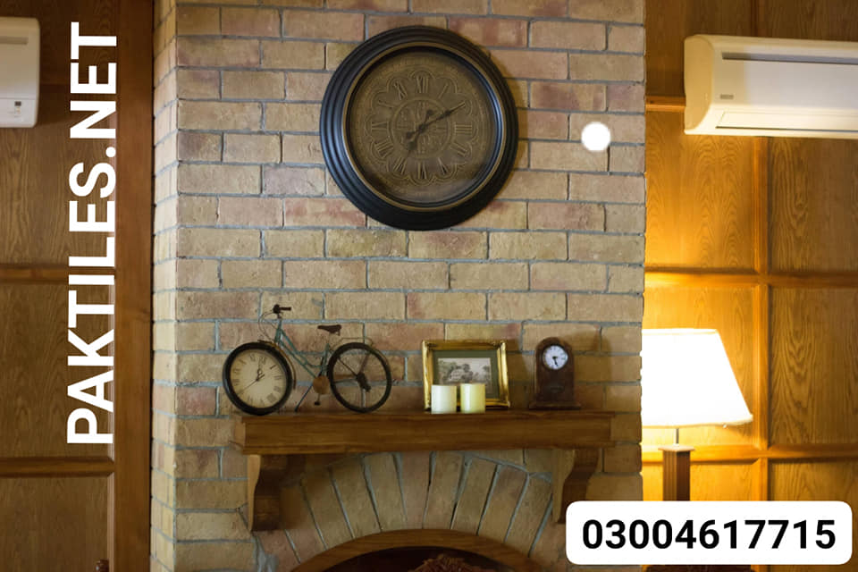 7 Pak Tile house yellow bricks wall tiles for interior walls fireplaces images