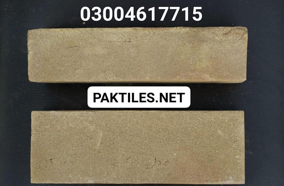 Pak Tile exterior yellow gutka brick wall tiles in pakistan