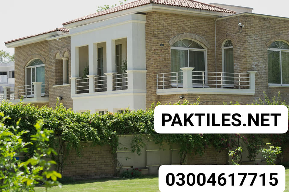 Pak Tile yellow bricks outdoor front wall tiles design pictures