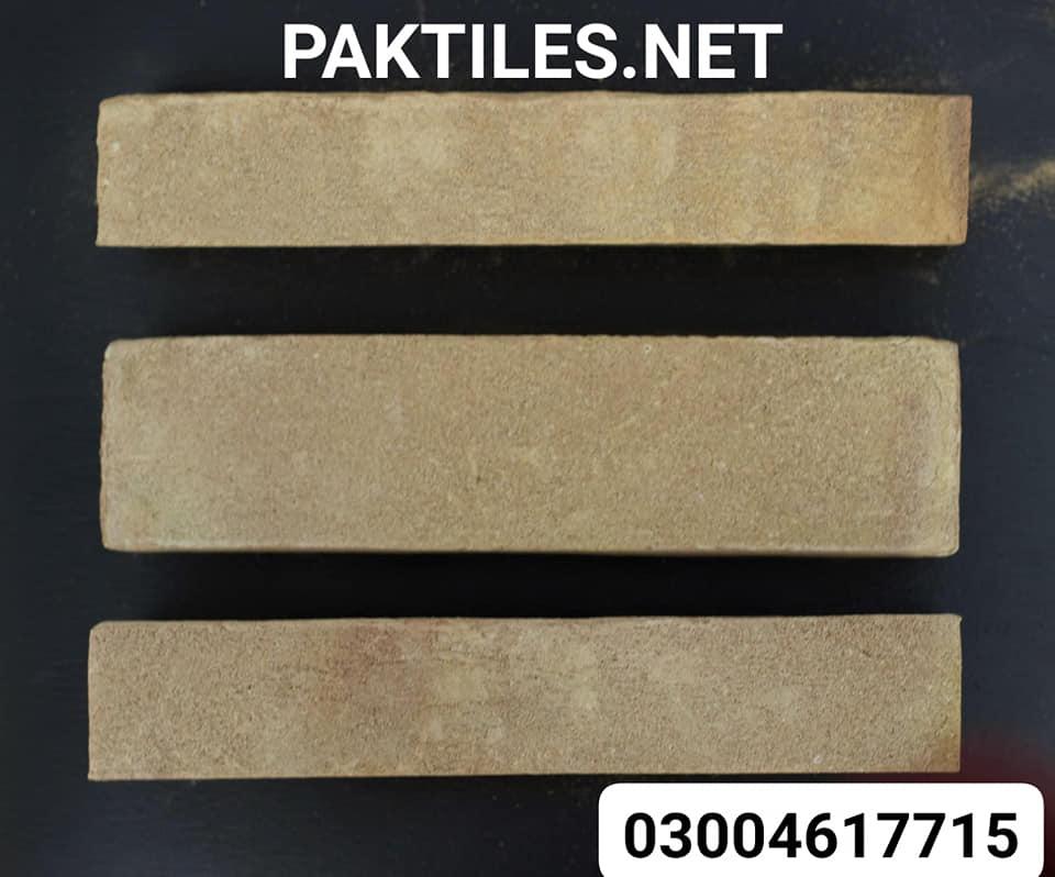 Pak Tile yellow gutka brick wall tiles in pakistan