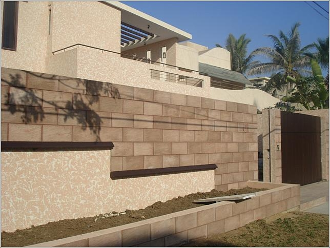 23 Chakwal stone exterior wall cladding tiles in Lahore